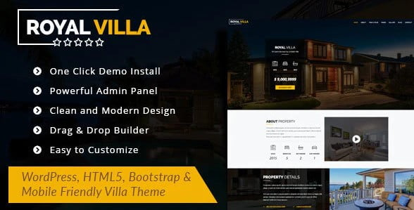 RoyalVilla - 36+ Awesome WordPress Single Product Themes [year]