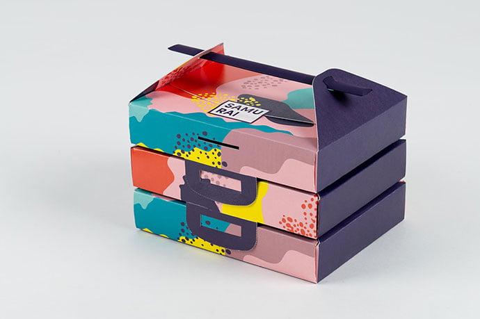 Samurai - 38+ Nice Free Pattern Shapes Packaging Designs [year]