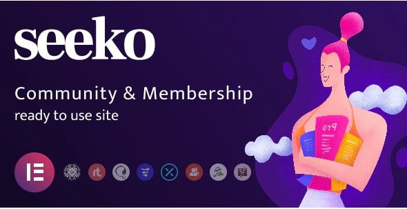 Seeko - 35+ Responsive WordPress Community Themes [year]