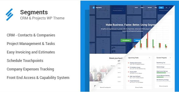 Segments - 30+ AWESOME WordPress Intranet Themes [year]