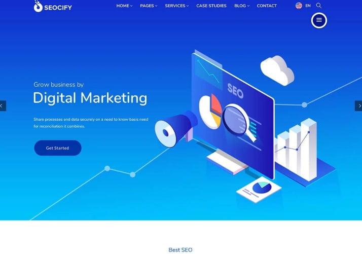 Seocify - 36+ Amazing WordPress SEO Agency Themes [year]