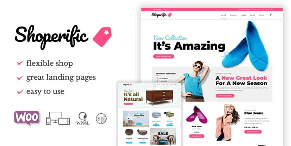 Shoperific - 36+ Awesome WordPress Single Product Themes [year]