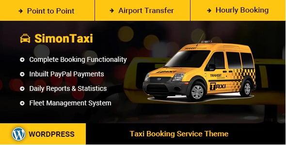 SimonTaxi - 34+ TOP Responsive WordPress Taxi Themes [year]