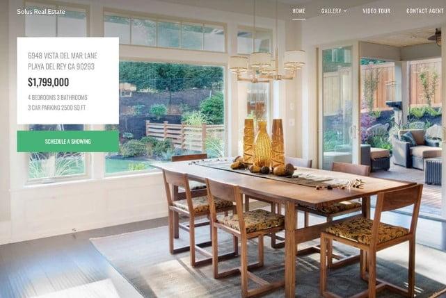 Solus - 35+ Stunning WordPress Single Property Themes [year]