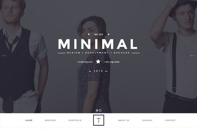 T-ONE - 35+ NICE CSS HTML Website Templates [year]