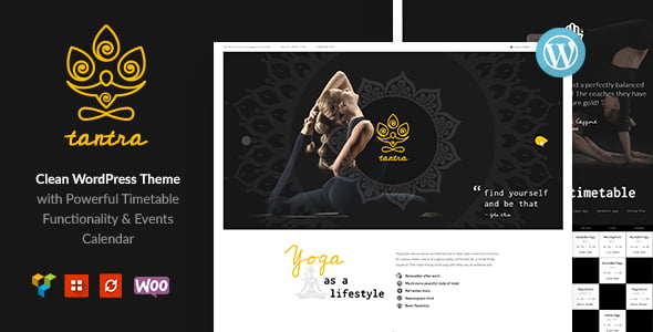 Tantra - 35+ HOT WordPress Dance Studios Themes [year]