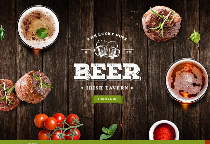 Tavern-2 - 35+ AMAZING WordPress Bar & Pub Themes [year]