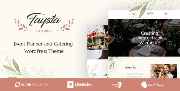 Taysta - 37+ Great WordPress Wedding Photography Themes [year]