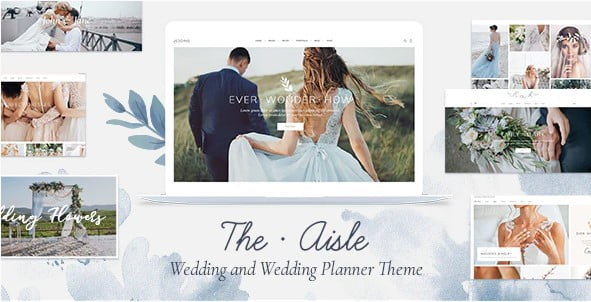 The-Aisle - 37+ Great WordPress Wedding Photography Themes [year]