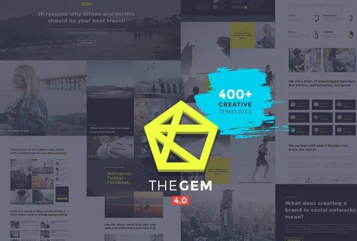 TheGem - 35+ TOP WordPress Lifestyle Themes [year]