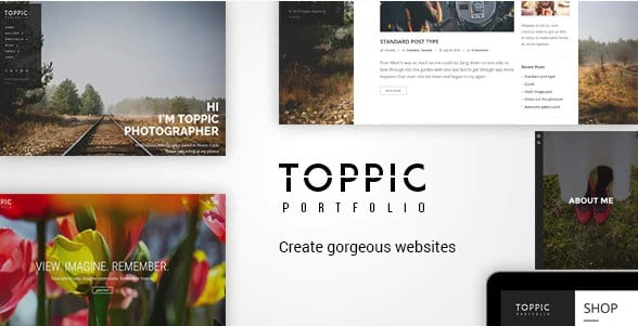 TopPic - 37+ Great WordPress Wedding Photography Themes [year]