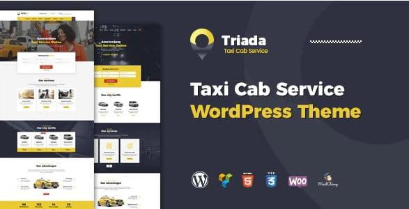 Triada - 34+ TOP Responsive WordPress Taxi Themes [year]