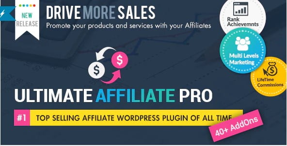Ultimate-Affiliate - 35+ Popular Membership Plugins For WordPress [year]