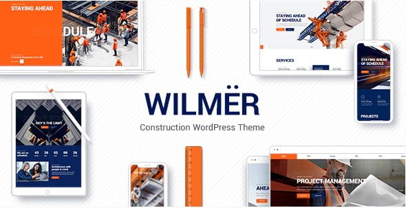 Wilmër - 35+ TOP WordPress Coworking Space Themes [year]