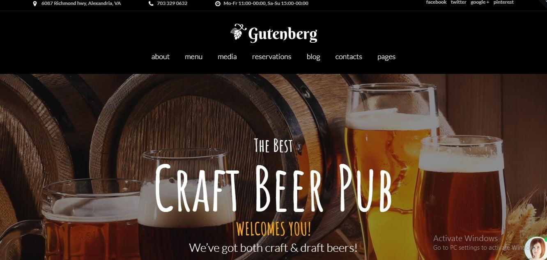 WordPress-Brewery-Themes - 34+ AWESOME WordPress Brewery Themes [year]