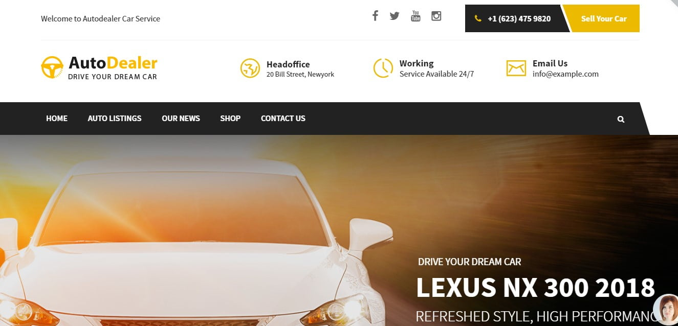 WordPress-Car-Rental-Themes - 30+ Awesome WordPress Car Rental Themes [year]