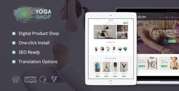 Yoga-Shop - 35+ HOT WordPress Dance Studios Themes [year]