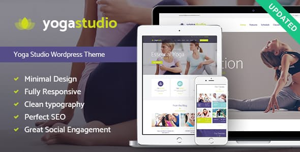 Yogastudio - 35+ HOT WordPress Dance Studios Themes [year]