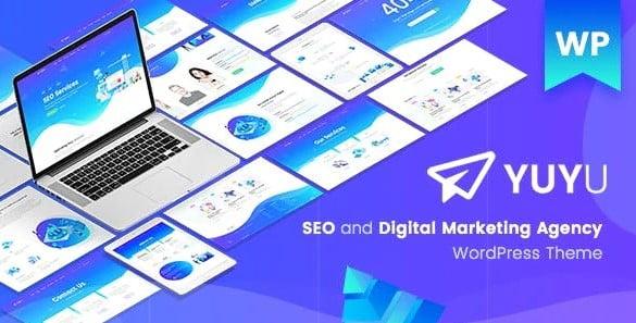 Yuyu - 36+ Amazing WordPress SEO Agency Themes [year]