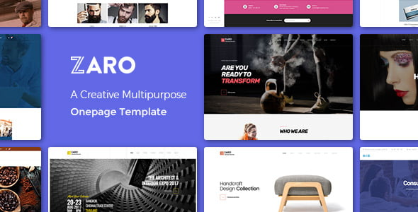 Zaro - 35+ HOT WordPress Dance Studios Themes [year]