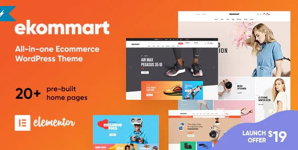 ekommart - 36+ Awesome WordPress Single Product Themes [year]