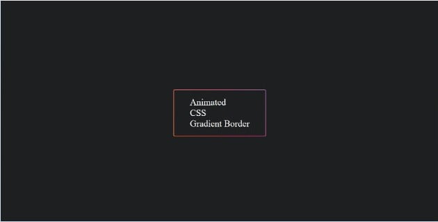 Animated-CSS - 45+ BEST FREE CSS Border Style & Animation IDEA [year]