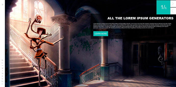 Antanta - 43+ BEST WordPress Minimalist Portfolio Themes [year]