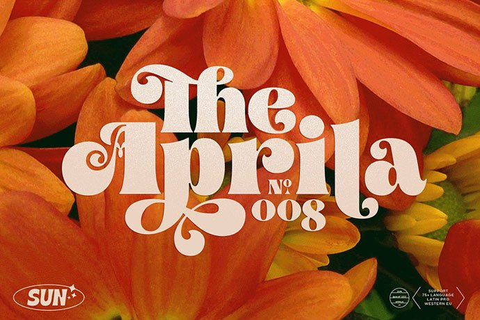 Aprila-Font-Family - 38+ TOP BEST Bold Display Fonts [year]