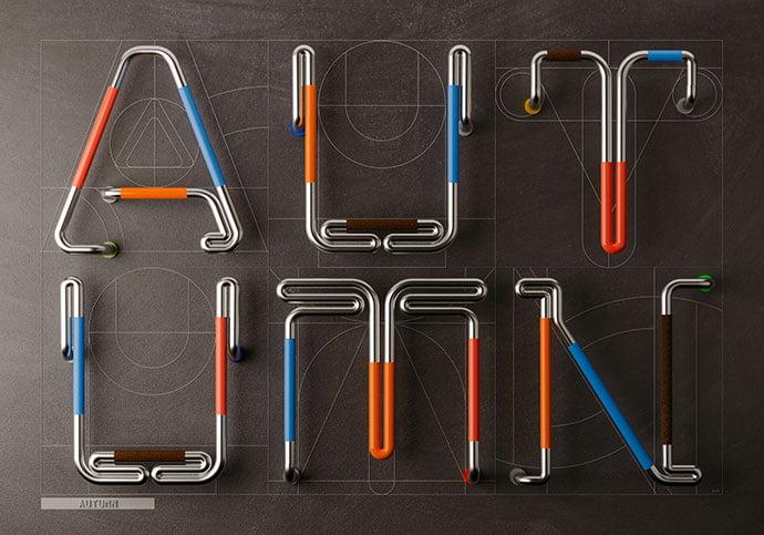 Autumn - 53+ TOP BEST Free Typography Designs IDEA [year]