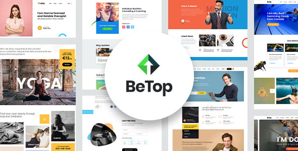 BeTop - 34+ BEST Psychologists, Therapists WordPress Themes [year]