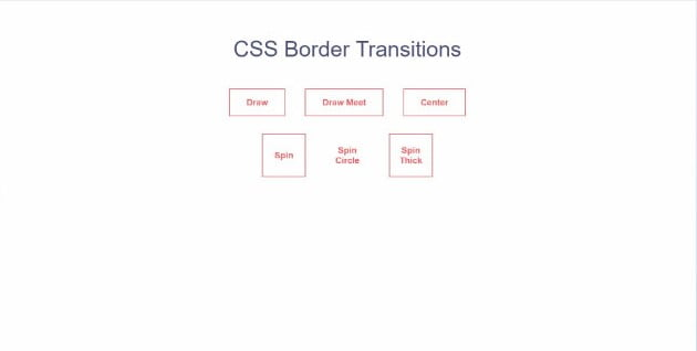 CSS-Border-transitions - 45+ BEST FREE CSS Border Style & Animation IDEA [year]
