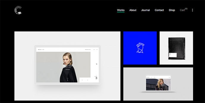 Calafate - 43+ BEST WordPress Minimalist Portfolio Themes [year]