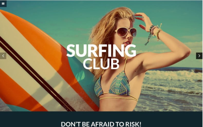 Extreme-Sports - 35+ TOP Surfing Website WordPress Themes [year]