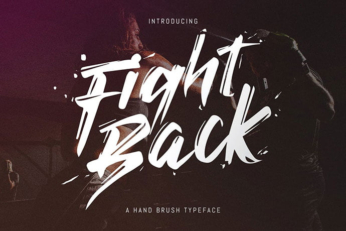 Fight-Back - 38+ TOP BEST Bold Display Fonts [year]