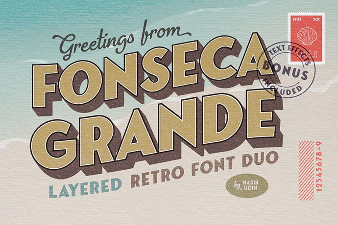 Fonseca-Grande - 38+ TOP BEST Bold Display Fonts [year]