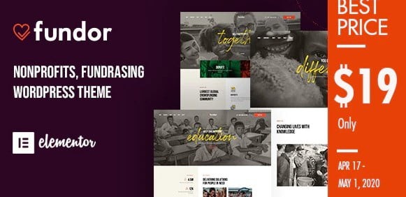 Fundor - 35+ TOP Surfing Website WordPress Themes [year]