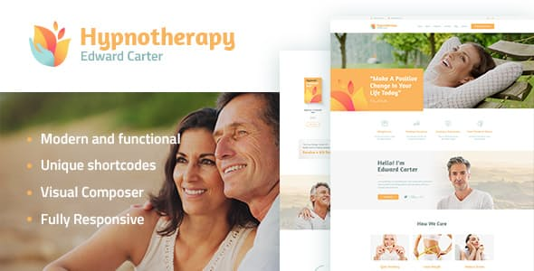 Hypnotherapy - 34+ BEST Psychologists, Therapists WordPress Themes [year]