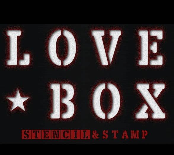 LOVE-BOX - 36+ NICE BEST Free Stencil Fonts [year]