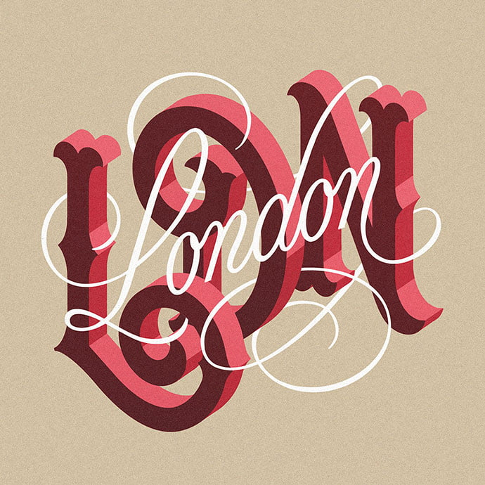 Lettering-2019 - 53+ TOP BEST Free Typography Designs IDEA [year]