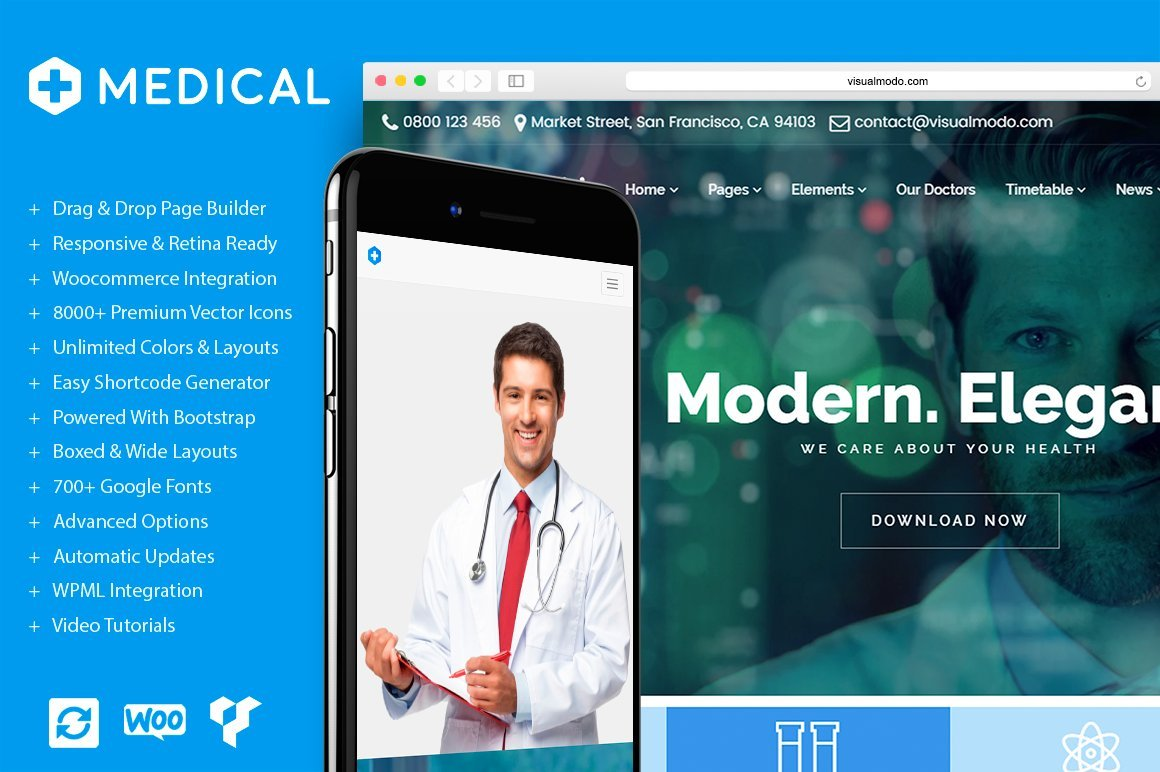 Medical - 34+ BEST Psychologists, Therapists WordPress Themes [year]