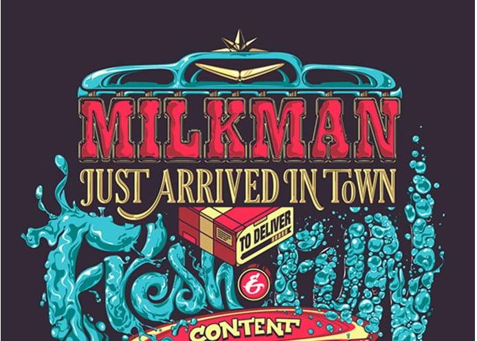 Milkman-Website - 53+ TOP BEST Free Typography Designs IDEA [year]