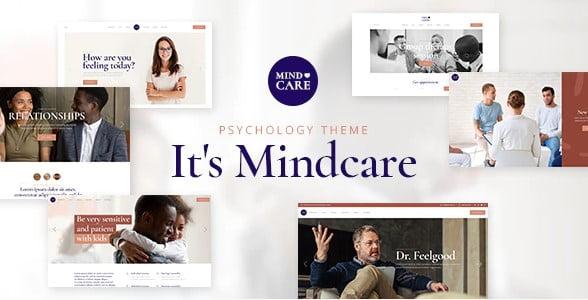 MindCare - 34+ BEST Psychologists, Therapists WordPress Themes [year]