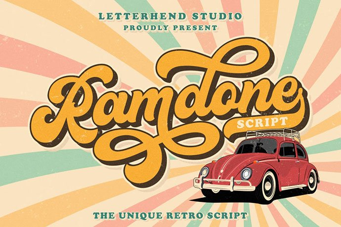 Ramdone - 38+ TOP BEST Bold Display Fonts [year]