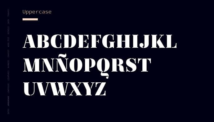 Regattia - 36+ NICE BEST Free Stencil Fonts [year]