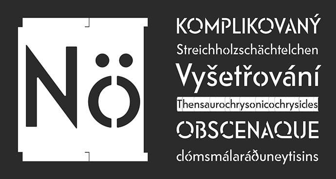 Riks - 36+ NICE BEST Free Stencil Fonts [year]