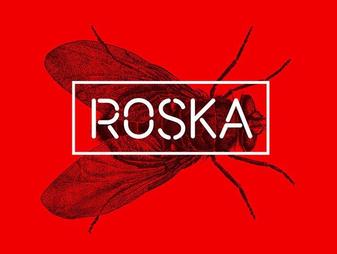 Roska - 36+ NICE BEST Free Stencil Fonts [year]