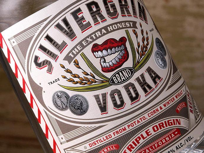 Silvergrin-Vodka - 53+ TOP BEST Free Typography Designs IDEA [year]