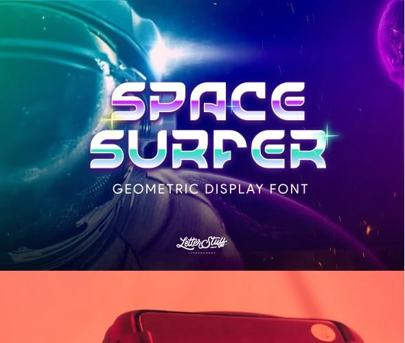 SpaceSurfer - 38+ TOP BEST Bold Display Fonts [year]