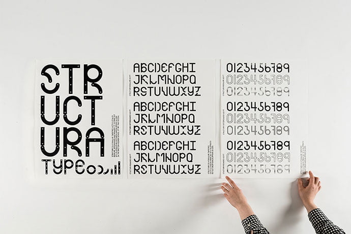 Structura - 53+ TOP BEST Free Typography Designs IDEA [year]