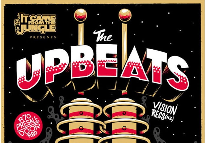 The-Upbeats-Poster - 53+ TOP BEST Free Typography Designs IDEA [year]